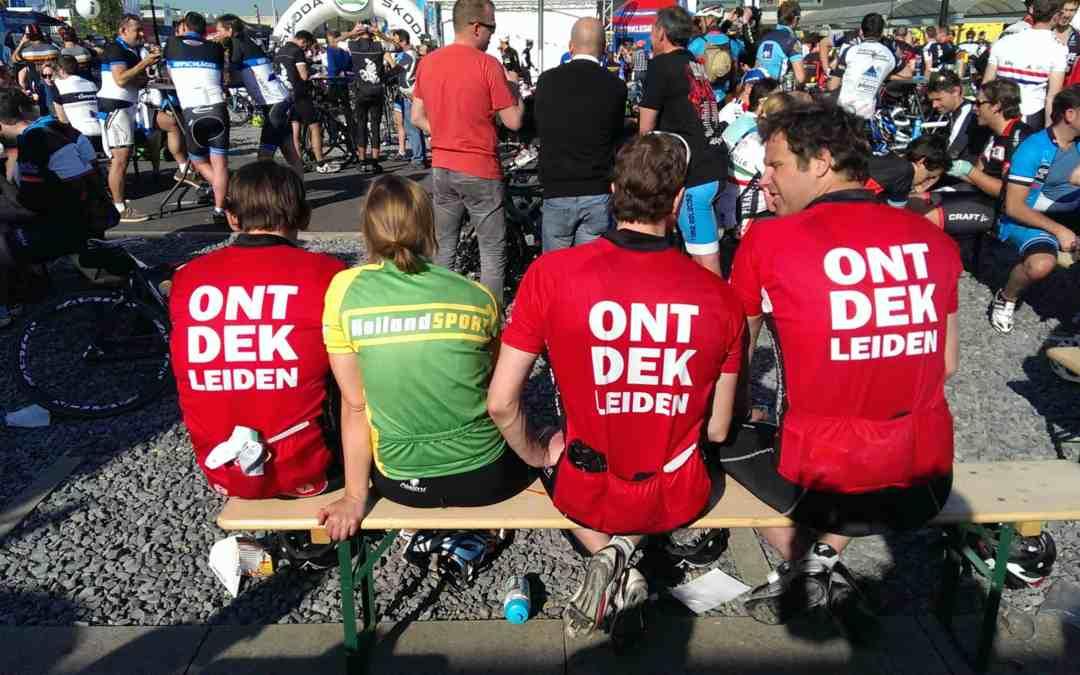 ONTDEK Leiden fietsclub bij Ronde van Vlaanderen 2014