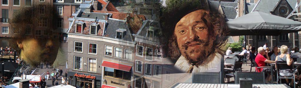 Schilderswandeling op inschrijving in Leiden en Haarlem