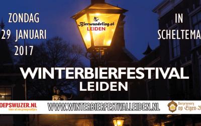 Tweede editie Winterbierfestival Leiden op 29 januari 2017 in Scheltema