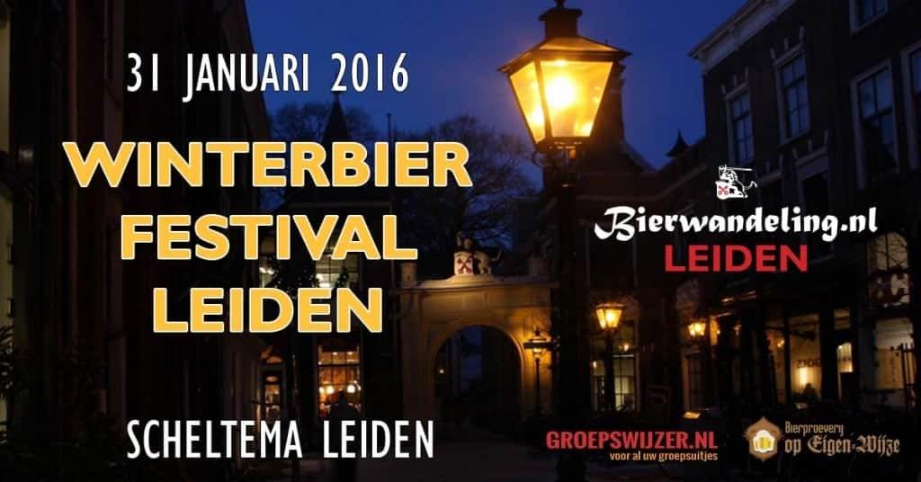 1e Winterbierfestival Leiden op zondag 31 januari 2016 in Scheltema