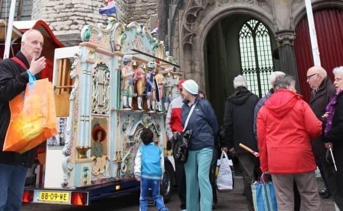 15e Leidse Draaiorgeldag 11 mei 2013 in Hooglandse Kerk Leiden