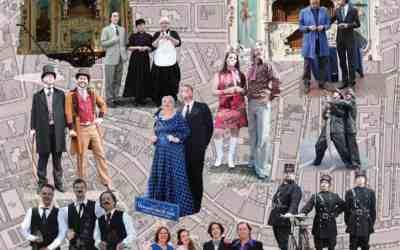 1e Lustrum Verhalen van de stad en Leidse Draaiorgeldag