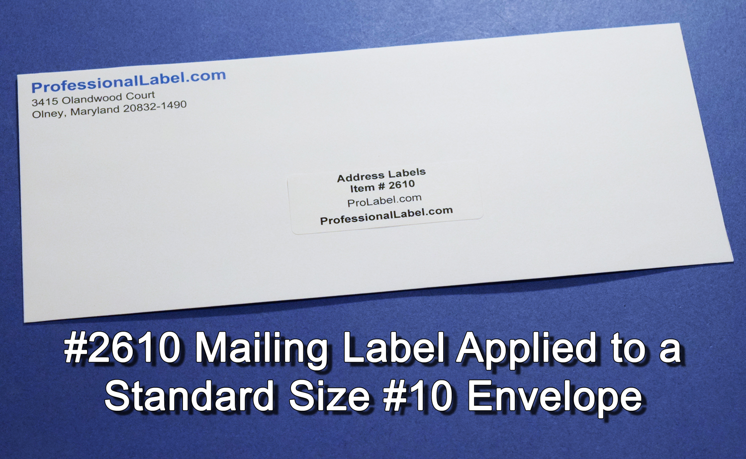 address labels matte white
