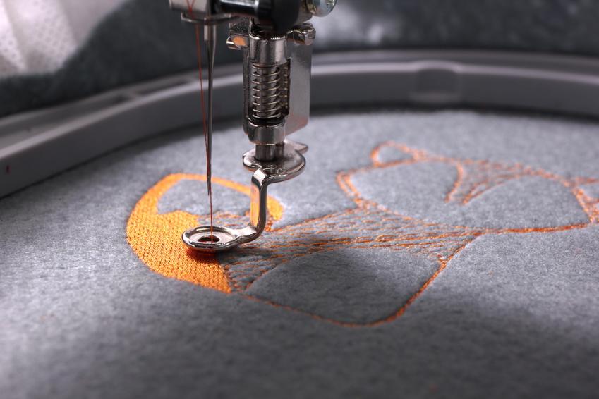 Textildruck -und Stick