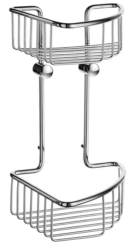 Buy Sideline Double Corner Shower Basket DK1021