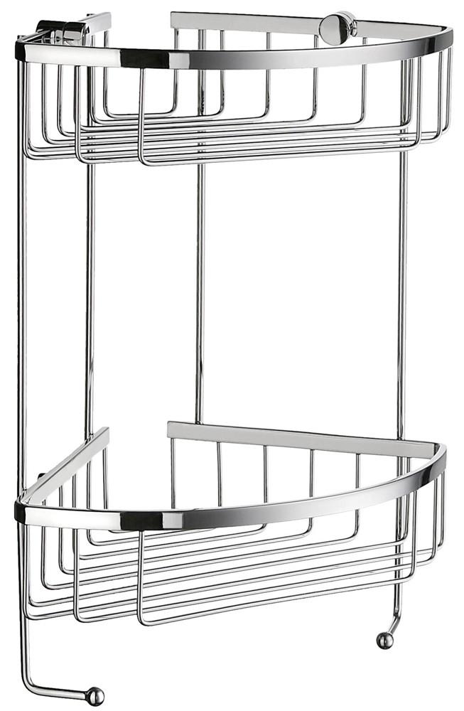 Buy Sideline Double Corner Shower Basket DK2031