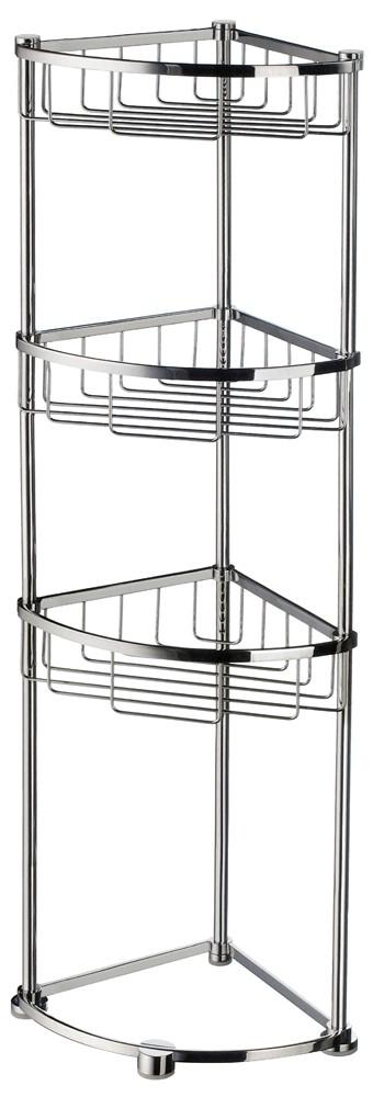 Buy Sideline Free Standing Corner Bathroom Basket DK2051