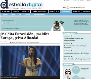 Spanja falenderon Shqiperine per festivalin europian 2014