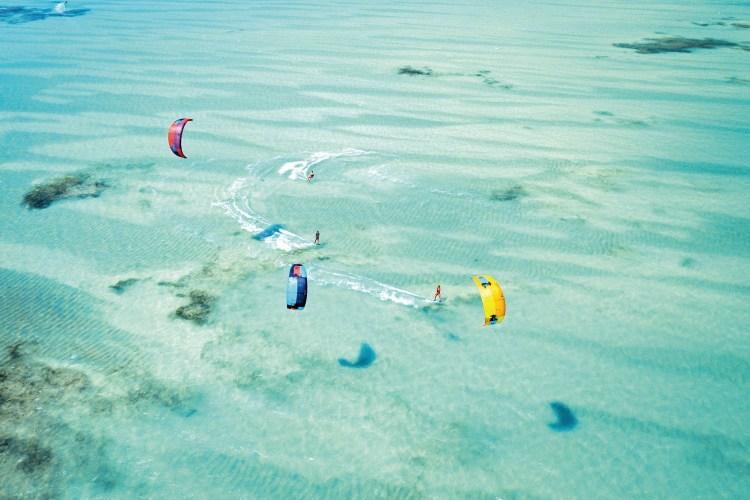 découvrir le kitesurf