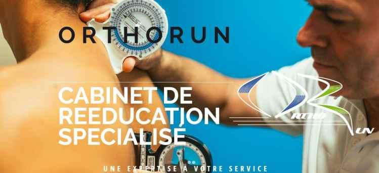 Orthorun- cabinet de réeducation spécialisé