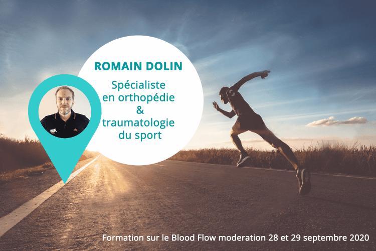 Romain Dolin kiné du sport