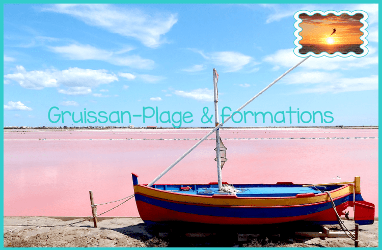 Gruissan-plage et formations