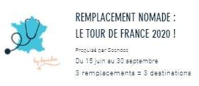 TDF Tour de France Docndoc Remplacement Nomade
