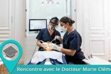 Dr Marie Clément - Dentisterie de l'esthétique du sourire sur Lyon