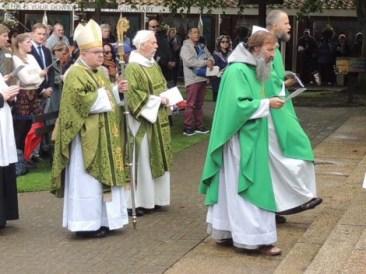 Bp Robert procession
