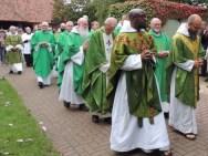 Priests procession