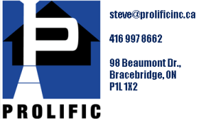 ProlificINC Logo and Address