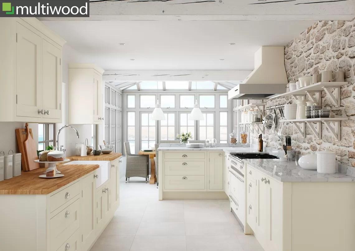 Multiwood Baystone Cream Kitchen