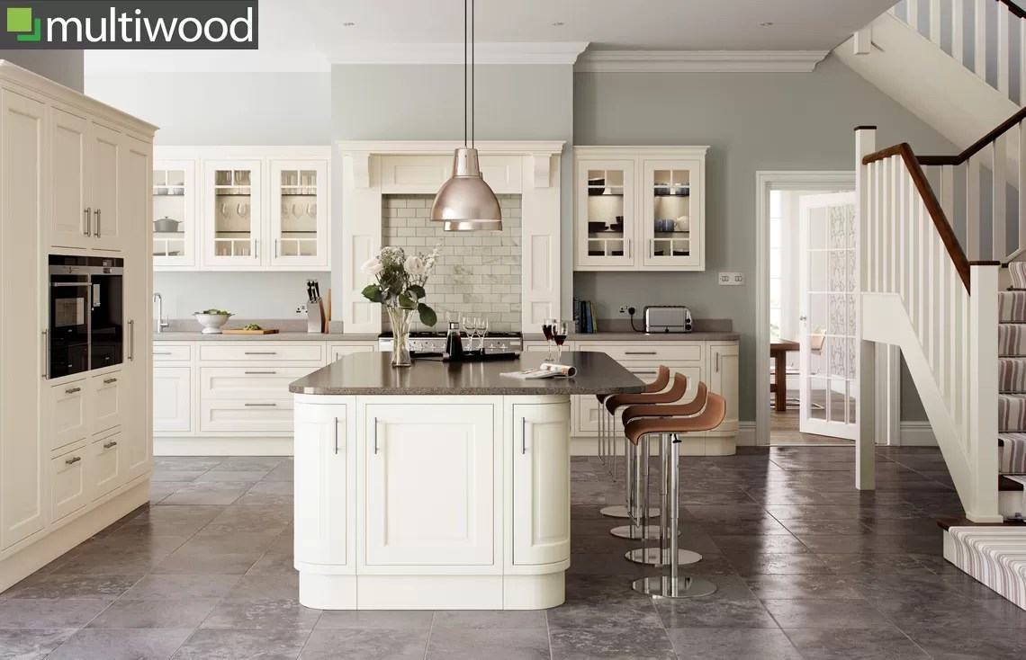 Multiwood Eildon Ash Painted In-frame Kitchen