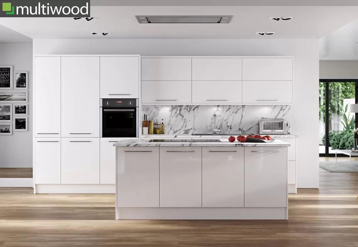 Multiwood Hameldown White Kitchen
