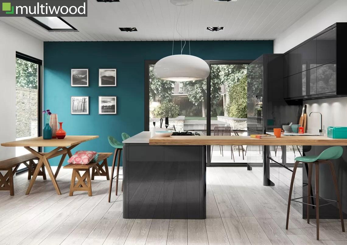 Multiwood Welford Graphite Kitchen