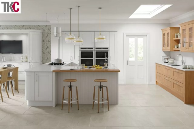 TKC Cambridge Light Grey Kitchen