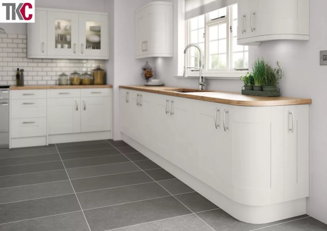 TKC Cartmel Hand Painted Light Grey Kitchen