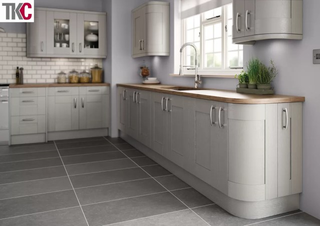 TKC Cartmel Hand Painted Silver Grey Kitchen