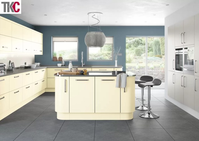 TKC Imola Hand Painted Ivory Kitchen