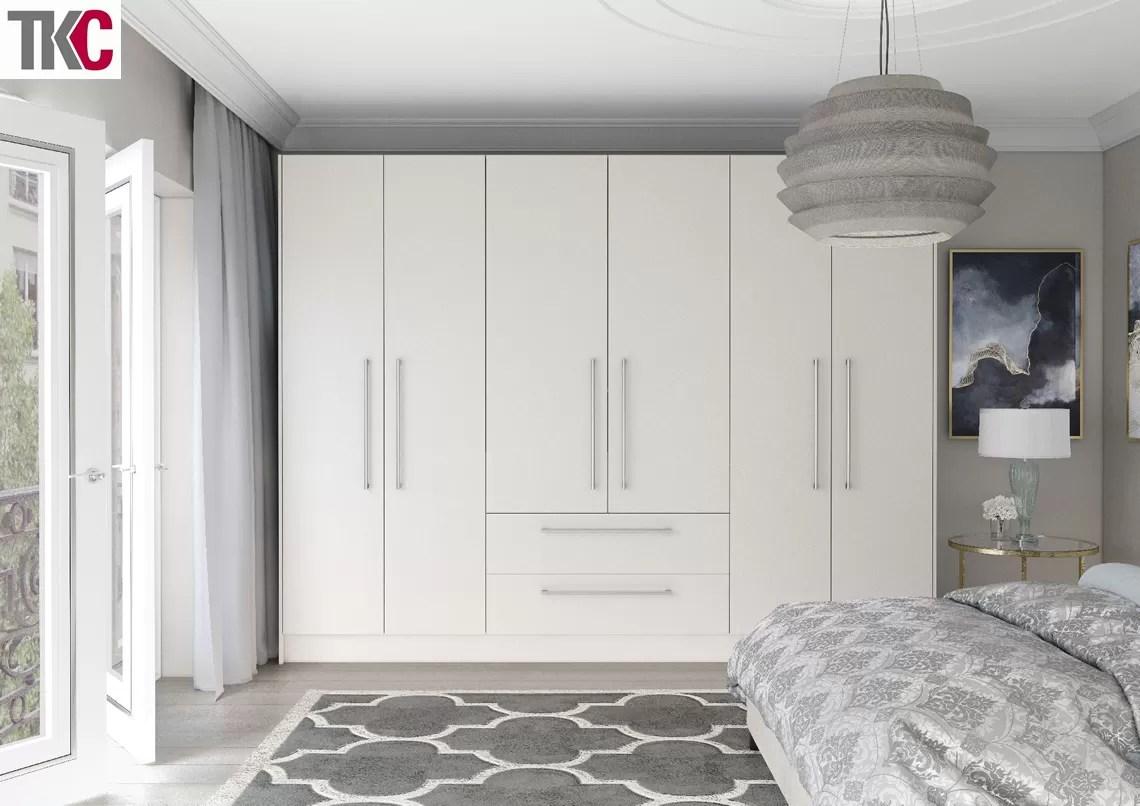 TKC Lastra Super Matt White Bedroom