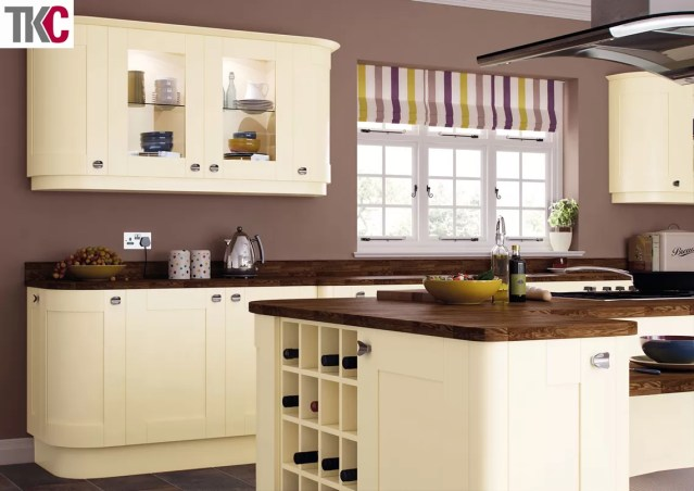 TKC Richmond Hand Painted Cream Kitchen