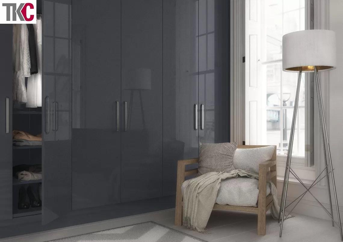 TKC Vivo Anthracite Bedroom