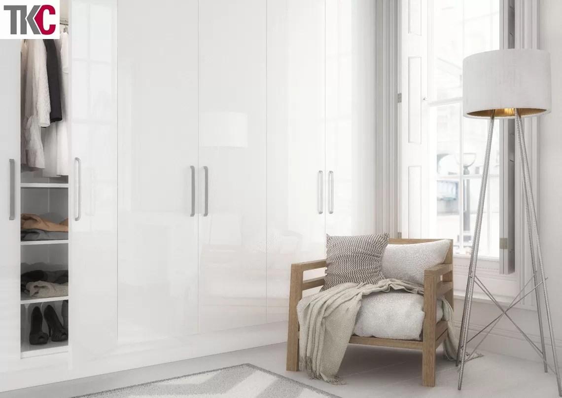 TKC Vivo White Bedroom