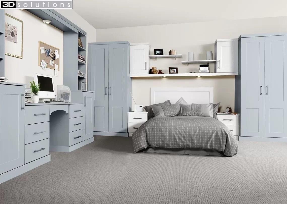 Trade Mouldings Boston Fjord & White Bedroom