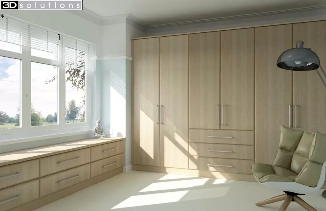 Trade Mouldings Hapton Sanoma Oak Bedroom