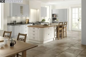 Trademouldings Boston Dove Grey Mussel Kitchen