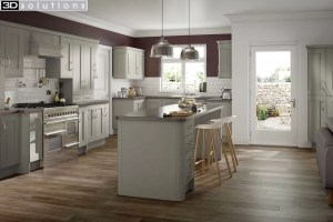 Trademouldings Buckingham Dakar Kitchen
