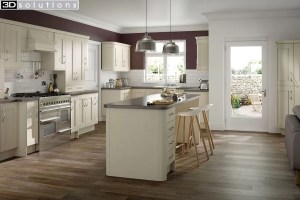 Trademouldings Buckingham Ivory Kitchen