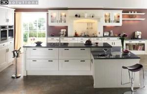 Trademouldings Gresham Ivory Kitchens