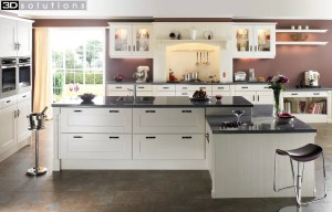 Trademouldings Gresham Ivory Kitchens