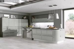 Trademouldings Odyssey Mussel Gloss Kitchen