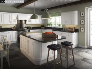Trademouldings Portland Porcelain Kitchen