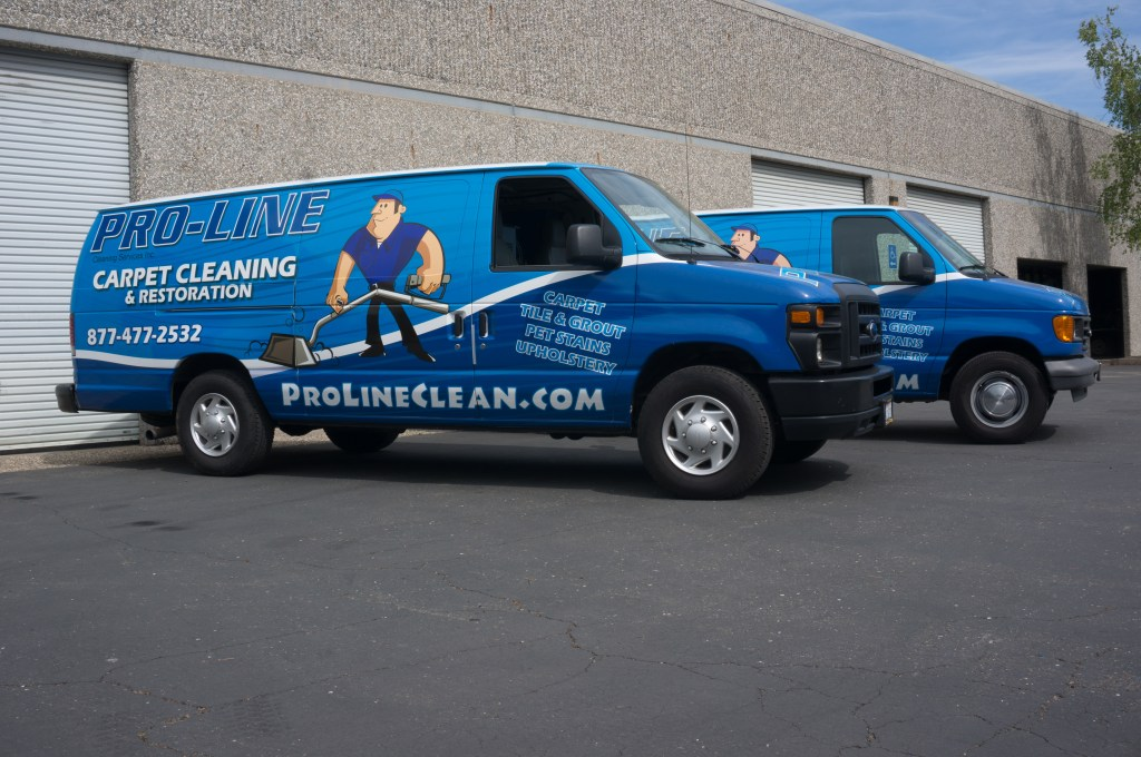 Our History, carpet cleaning vans
