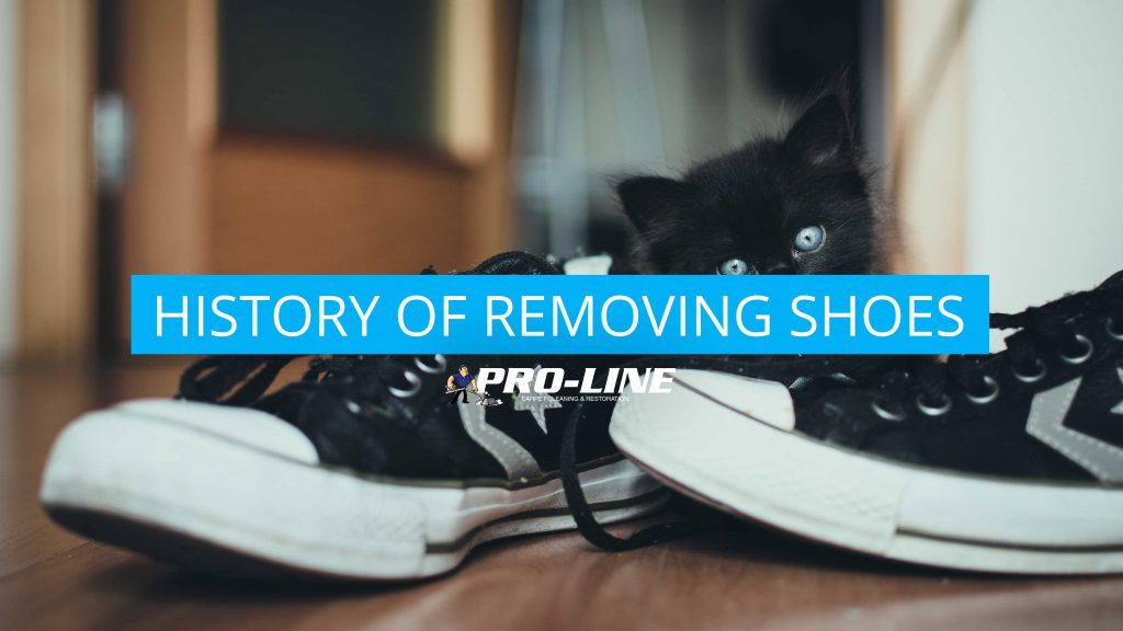 History of removing shoes hero image