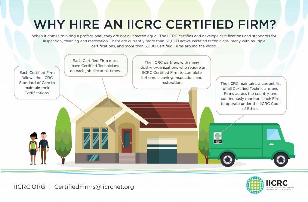 IICRC Certified Firm Slide Image