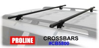 Proline CB5800 Roof Rack Railing Cross Bars