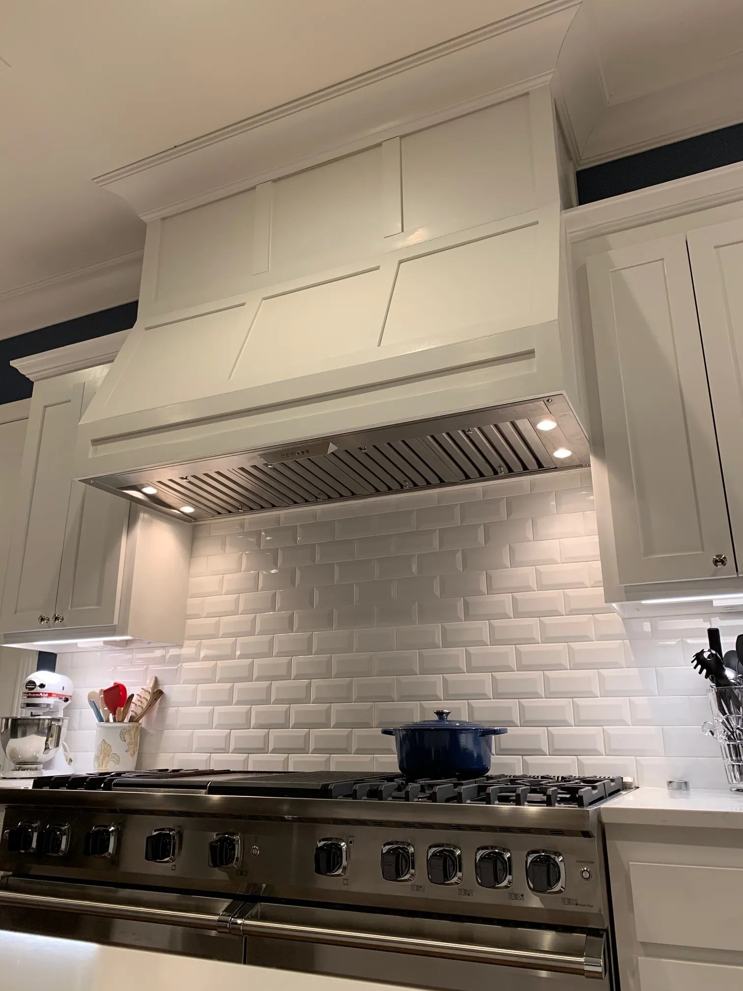 how to install a range hood insert
