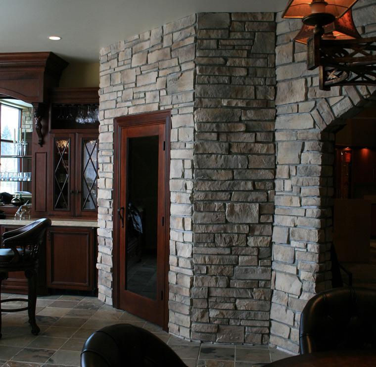 Stillwater Ledgestone Stone Veneer Exterior Stone Walls
