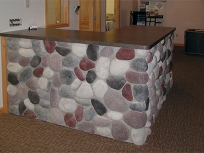 Wisconsin River Rock Stone Veneer  InteriorExterior
