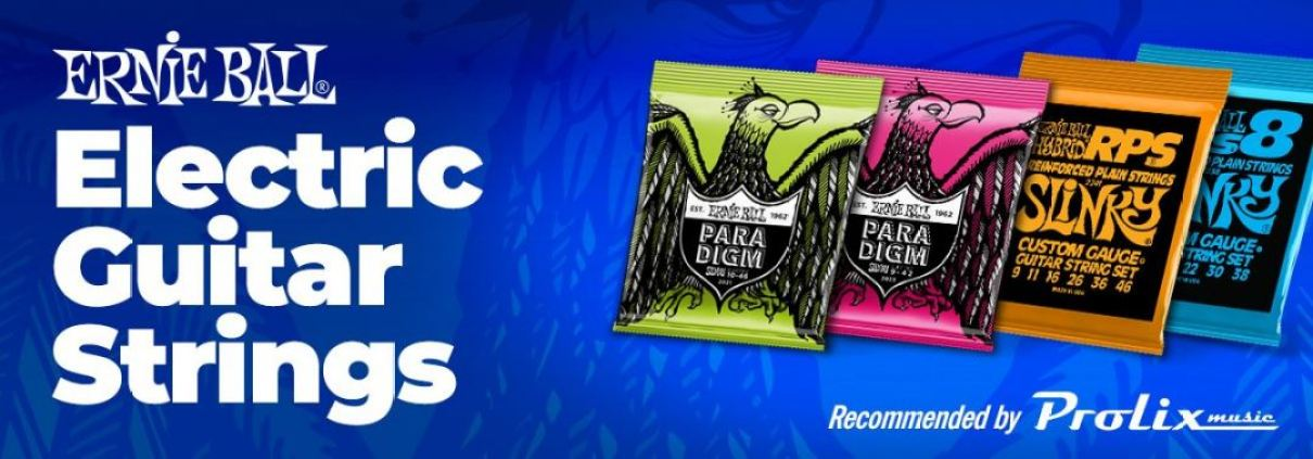 Electric Guitar strings recommended by Prolix Music